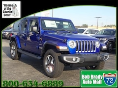 New 2020 Jeep Wrangler UNLIMITED SAHARA 4X4 Sport Utility for sale in Decatur, IL