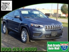 New 2020 Jeep Cherokee LATITUDE FWD Sport Utility for sale in Decatur, IL