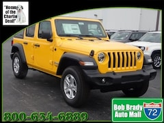New 2020 Jeep Wrangler UNLIMITED SPORT S 4X4 Sport Utility for sale in Decatur, IL