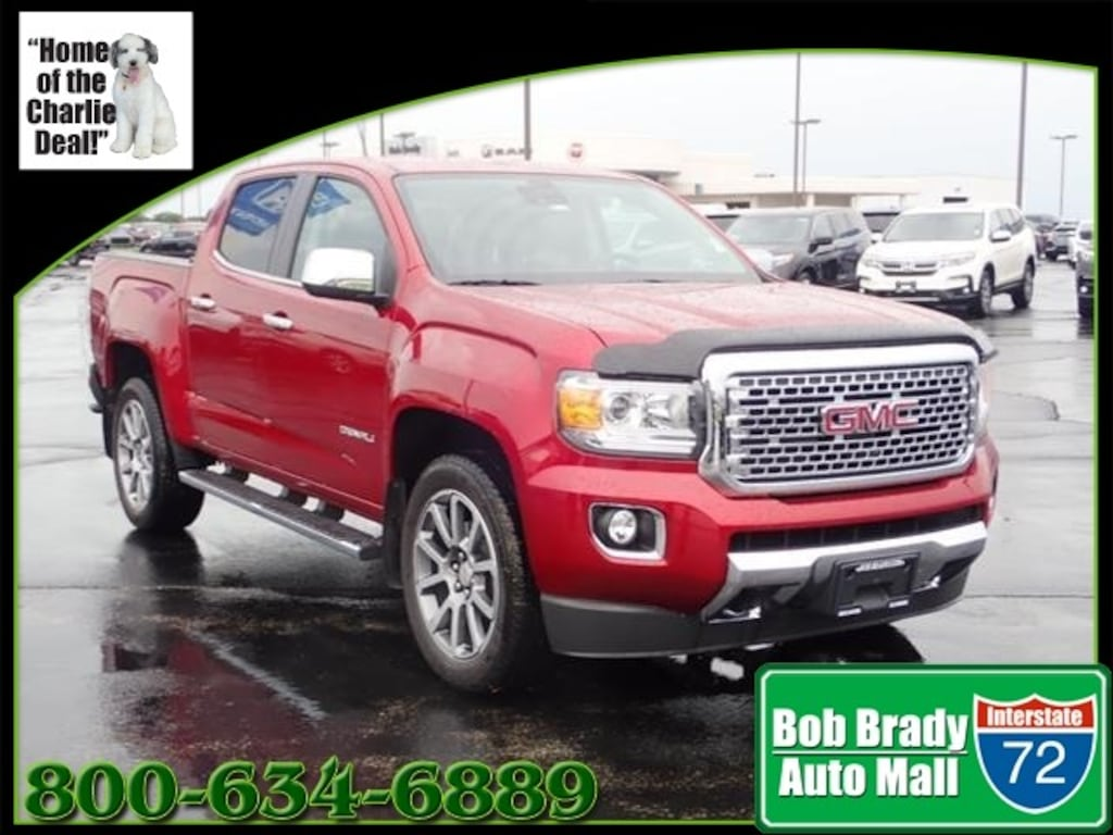 2018 gmc canyon denali for sale in decatur il springfield champaign bloomington am5208a 1gtg6een9j1269771 2018 gmc canyon denali for sale in