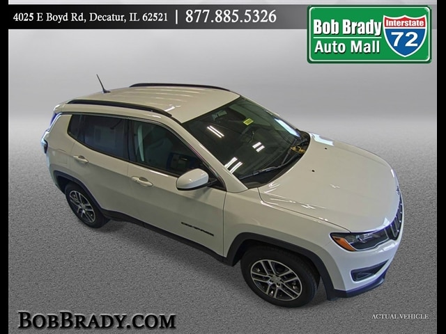 Featured Used 2018 Jeep Compass Latitude FWD SUV for sale in Decatur, IL
