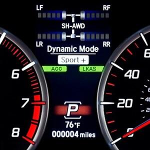 2018 Acura TLX V6 Dash
