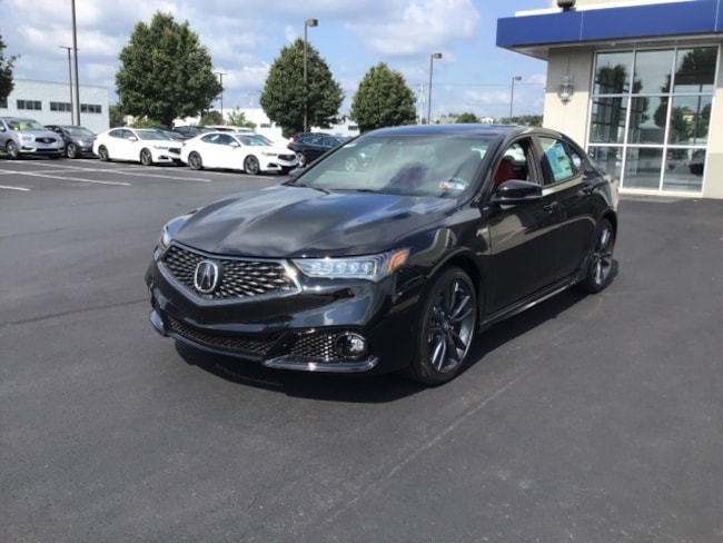 2019 Acura TLX 3.5 V-6 9-AT SH-AWD with A-SPEC RED Sedan