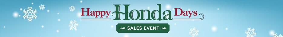 Happy Honda Days Civic leases in Mechanicsburg PA