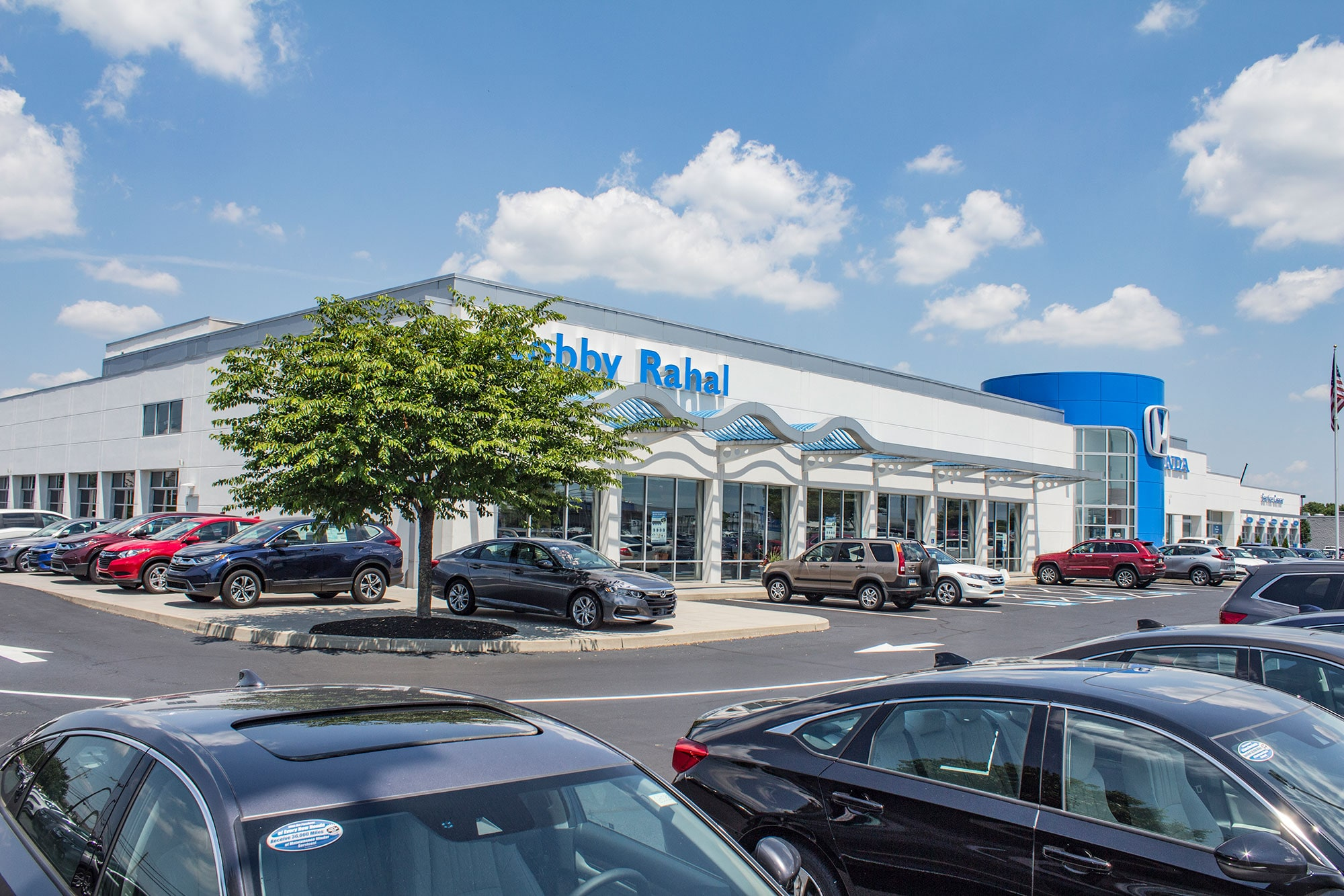 Bobby Rahal Honda New and Used Car Dealer and Service Department