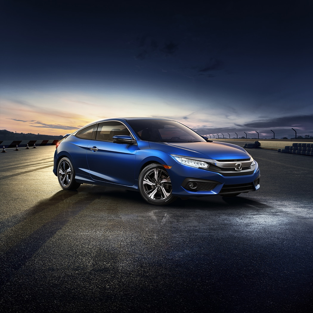 2018 Honda Civic Coupe with Collision Mitigation Braking System