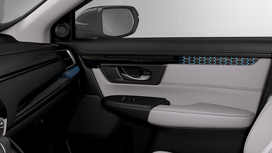Door lighting on the 2018 Honda CR-V