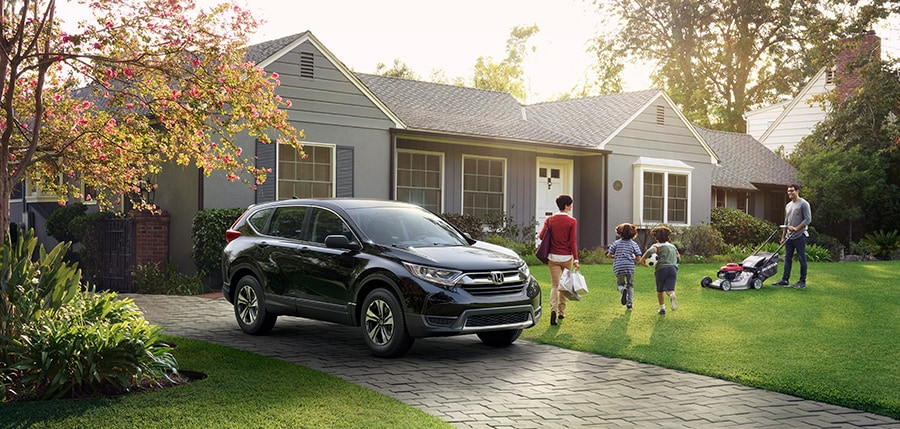 2018 CR-V, a family-sized SUV