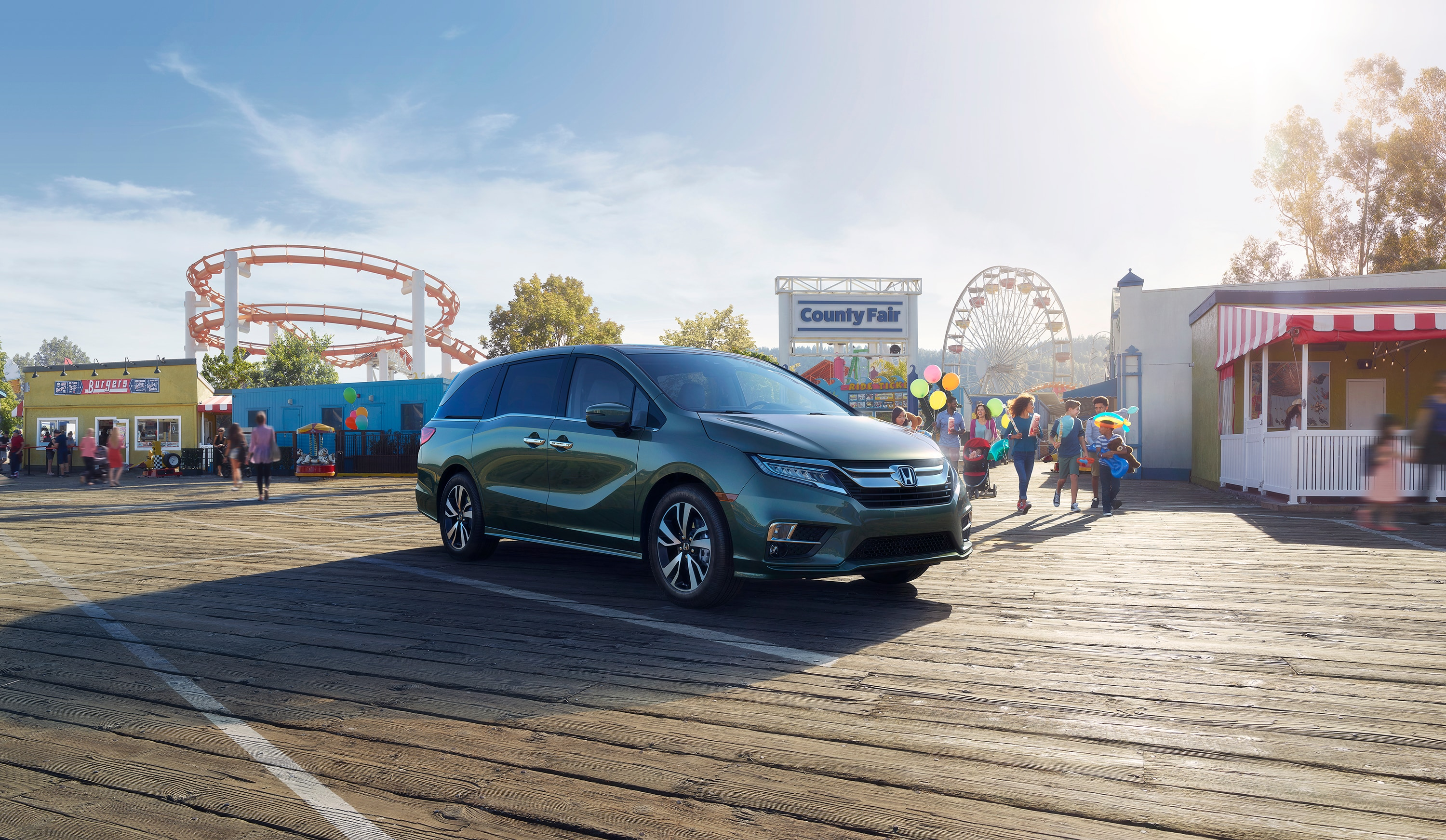 The 2019 Odyssey, the perfect fit for every family