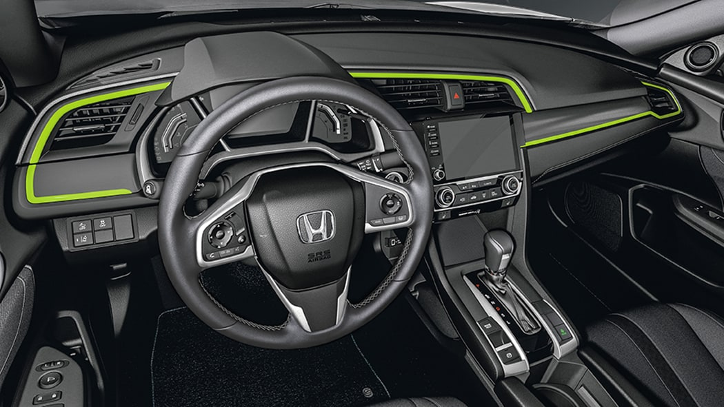 Interior LED lighting for the 2018 Civic Sedan