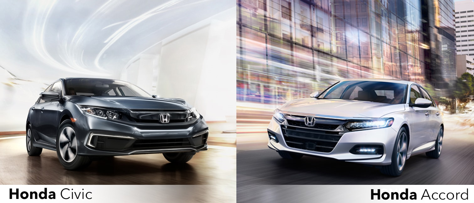 Honda Civic Vs Accord >> 2019 Civic Sedan Vs 2019 Accord Bobby Rahal Honda Of State College