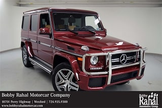 2017 Mercedes-Benz AMG G 63 G 63 4matic® SUV
