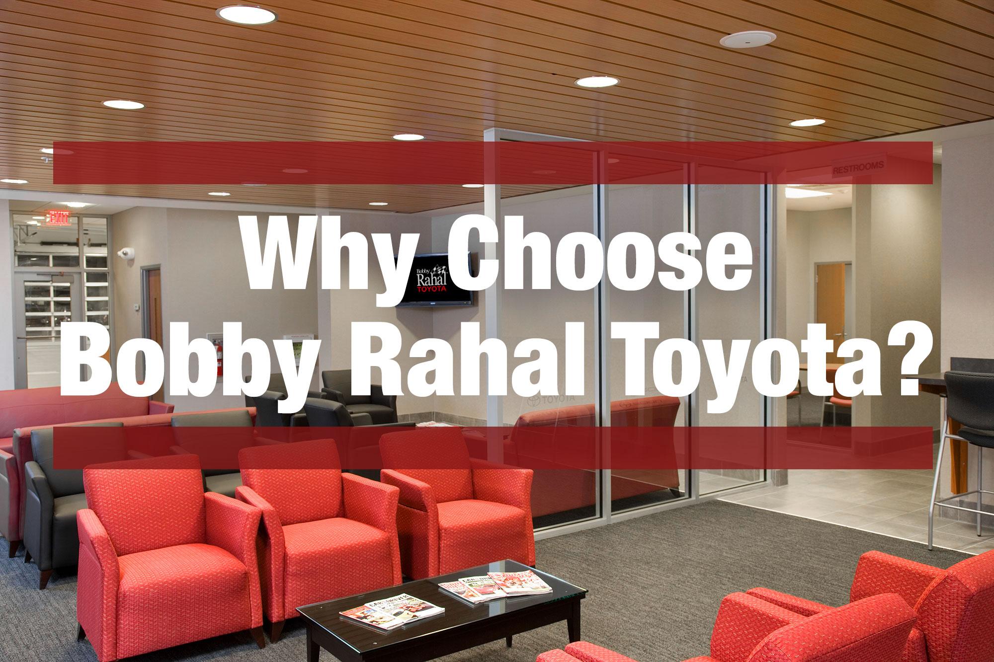 Bobby Rahal Toyota >> Why Choose Bobby Rahal Toyota Bobby Rahal Toyota