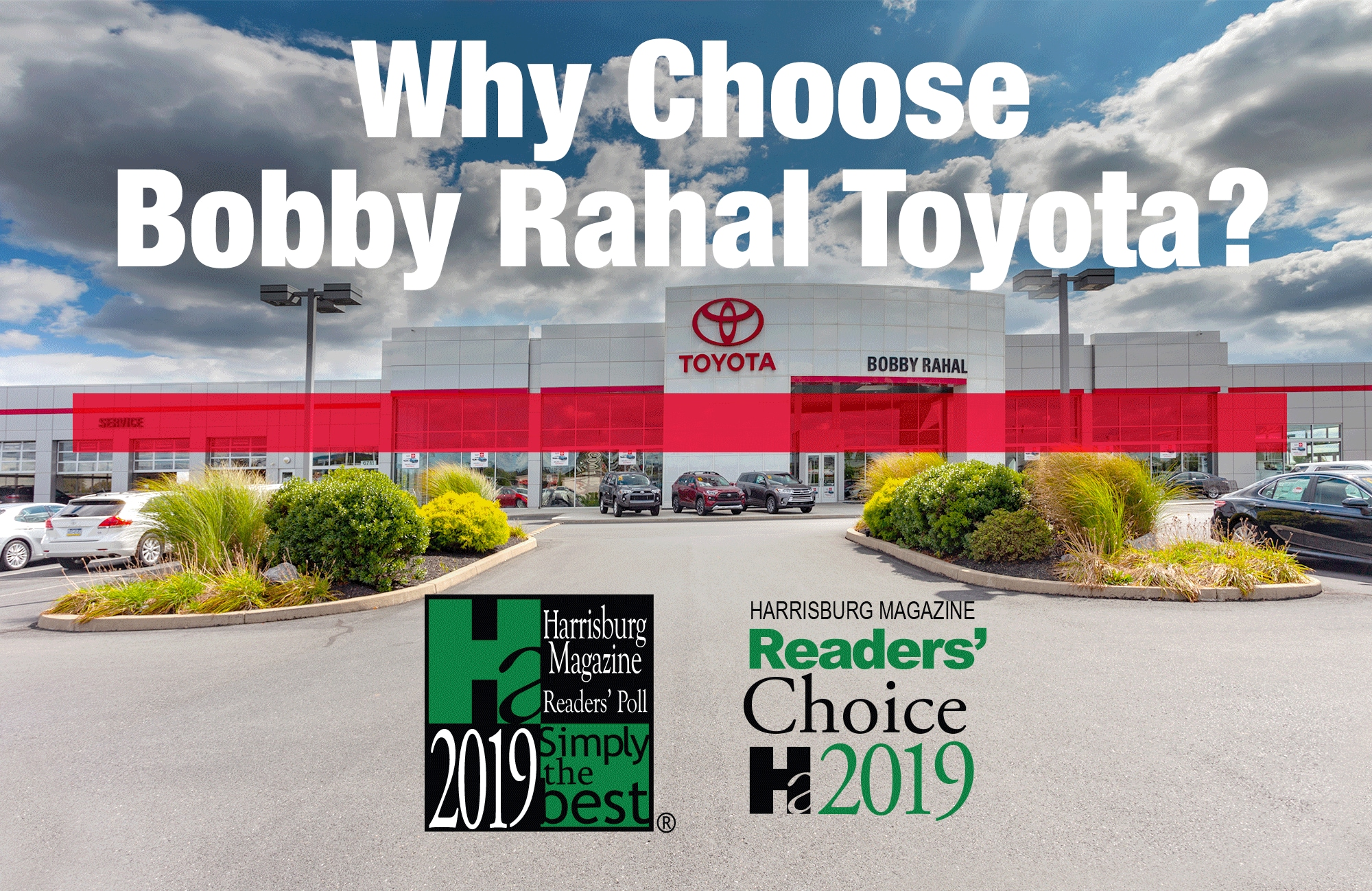 Why Choose Bobby Rahal Toyota in Mechanicsburg, PA