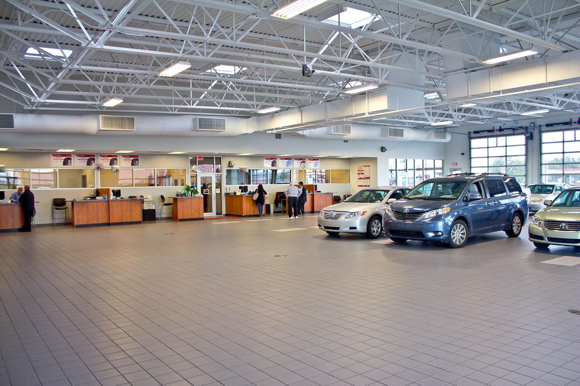 Bobby Rahal Toyota New and Used Car Dealer and Service Department