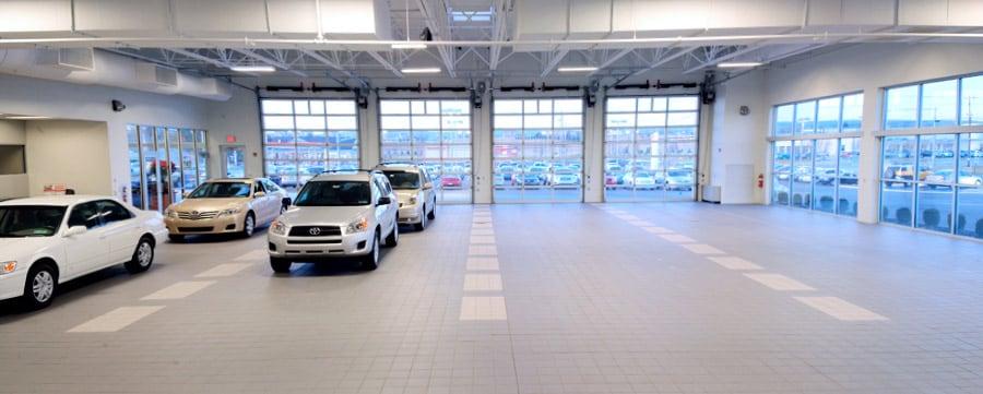 Bobby Rahal Toyota of Mechanicsburg Service Drive