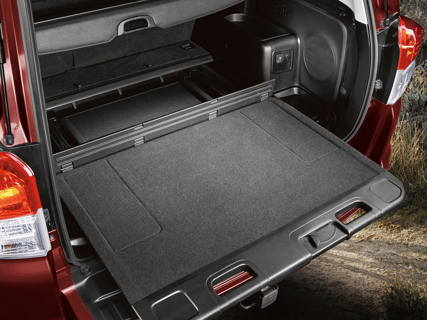trunk space of the 2019 4Runner