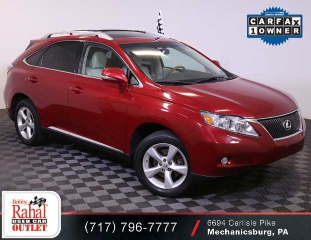 Outlet Car 2011 Lexus RX350 Stock Number UL5784