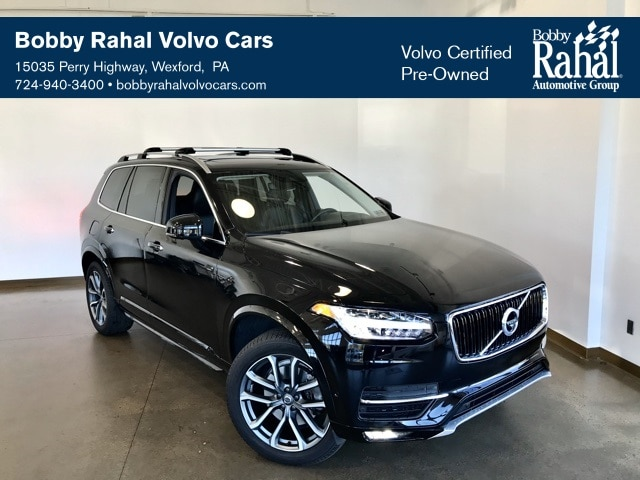 Featured Pre-owned 2017 Volvo XC90 T6 Momentum SUV for sale in Wexford near Pittsburgh, PA