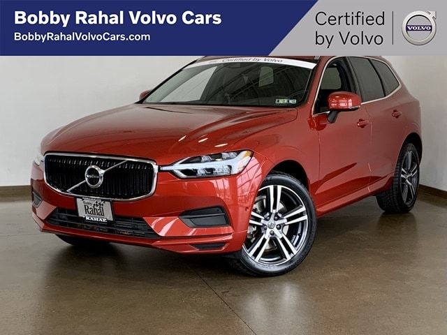 Featured Pre-owned 2018 Volvo XC60 T6 Momentum SUV for sale in Wexford near Pittsburgh, PA