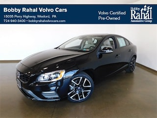 Pre-Owned 2017 Volvo S60 T5 Dynamic Drive-E 2.0L I4 16V Turbocharged YV140MTL9H2424835 for Sale in Wexford near Pittsburgh