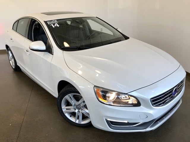Featured Pre-owned 2014 Volvo S60 T5 Premier Sedan for sale in Wexford near Pittsburgh, PA