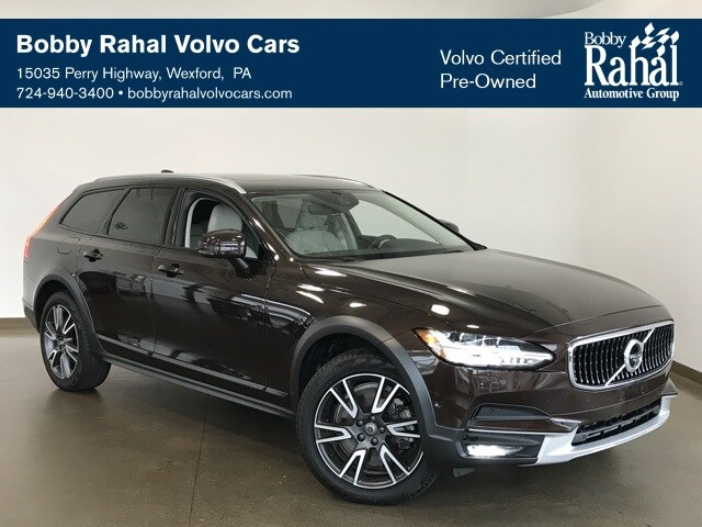 Featured Pre-owned 2018 Volvo V90 Cross Country T6 AWD Wagon for sale in Wexford near Pittsburgh, PA