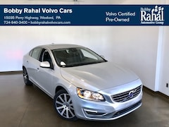 Certified Pre-Owned 2016 Volvo S60 Inscription T5 Sedan in Westford PA near Pittsburgh