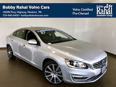 Certified Pre-Owned 2016 Volvo S60 Inscription T5 Platinum Sedan in Westford PA near Pittsburgh