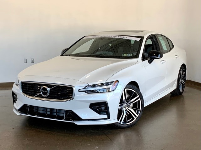 Featured Pre-owned 2020 Volvo S60 T6 R-Design Sedan for sale in Wexford near Pittsburgh, PA