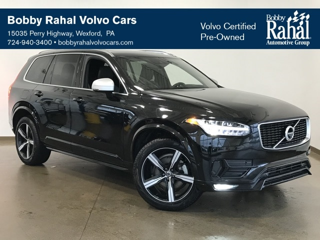 Featured Pre-owned 2019 Volvo XC90 T6 R-Design SUV for sale in Wexford near Pittsburgh, PA