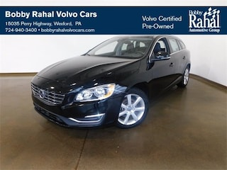 Pre-Owned 2017 Volvo V60 T5 Premier 2.0L 4-Cylinder Turbocharged DOHC YV140MEK8H1361687 for Sale in Wexford near Pittsburgh