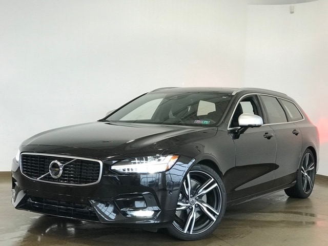 Featured Pre-owned 2019 Volvo V90 T6 R-Design Wagon for sale in Wexford near Pittsburgh, PA