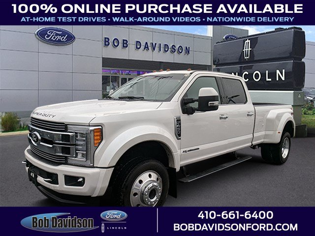 2018 Ford F-450 Limited Crew Cab Long Bed Truck