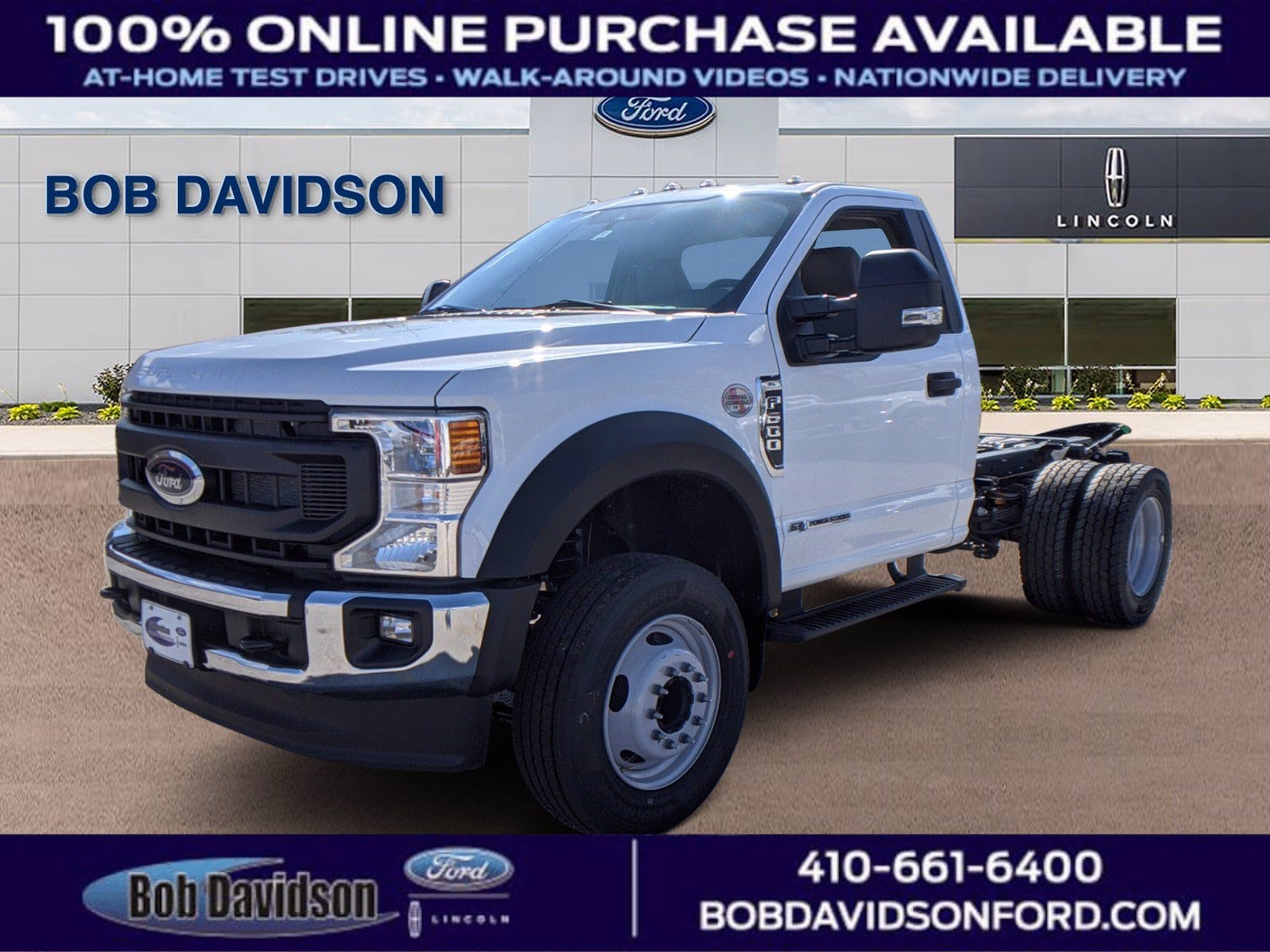 2021 Ford F-600 Chassis F-600 XL Commercial-truck