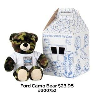 Ford Camo Bear $23.95 #300752.jpg