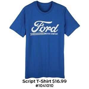 Ford Script T-Shirt $16.99 #1041010.jpg