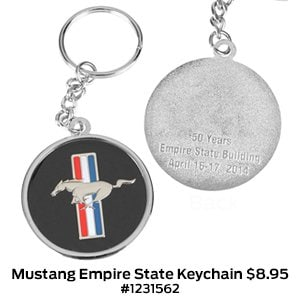 Mustang Empire State Building Keychain $8.95 #1231562.jpg