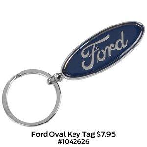 Ford Oval Key Tag $7.95 #1042626.jpg