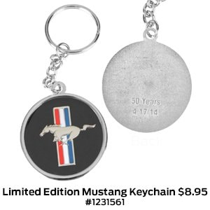 Limited Edition Mustang Keychain $8.95 #1231561.jpg