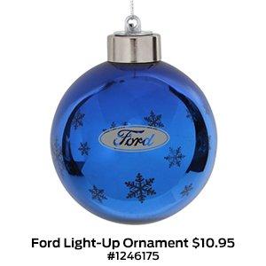 Ford Light-Up Snowflake Ornament $10.95 #1246175.jpg