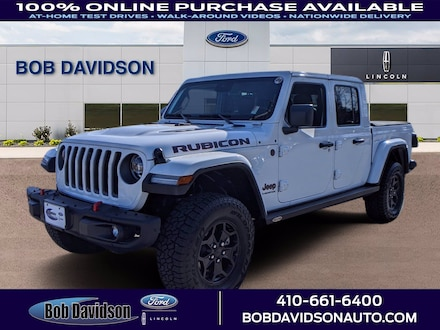2020 Jeep Gladiator Rubicon Crew Cab Short Bed Truck