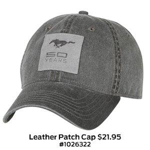Leather Patch Cap $21.95 #1026322.jpg