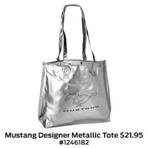 Mustang Designer Metallic Tote $21.95 #1246182.jpg