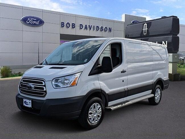 2016 Ford Transit Cargo Van T-250 130 Low Rf 9000 GVWR Swing-Out RH Dr