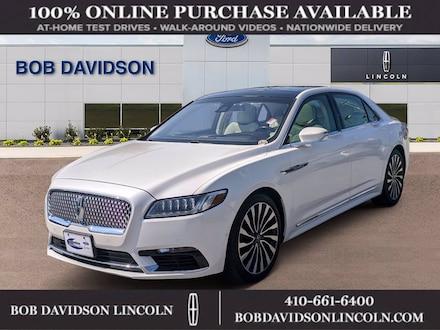 2019 Lincoln Continental LBL Black Label SEDAN