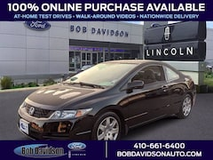 Used 2010 Honda Civic LX Coupe