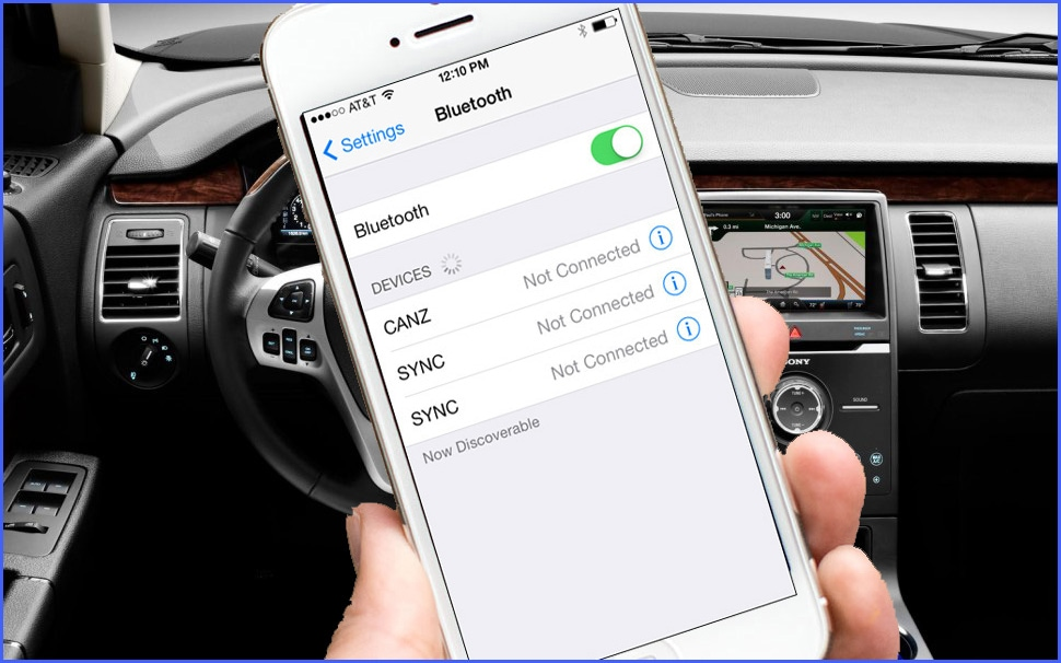 how to sync phone to ford fusion 2011