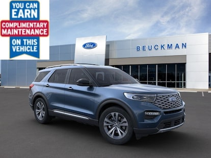 New 2020 Ford Explorer Platinum For Sale Lease Ellisville Mo Vin 1fm5k8hc9lga44602