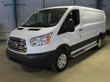 2018 Ford Transit Van T-250 130 Low Rf 9000 Gvwr Swing-Out RH Dr Van